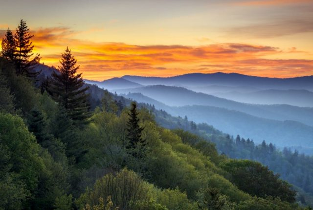 Great Smoky Mountains National Park in Amerika