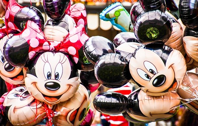 Disneyland-Amerika-figuren-Donald-Mickey-Goofy-Minnie