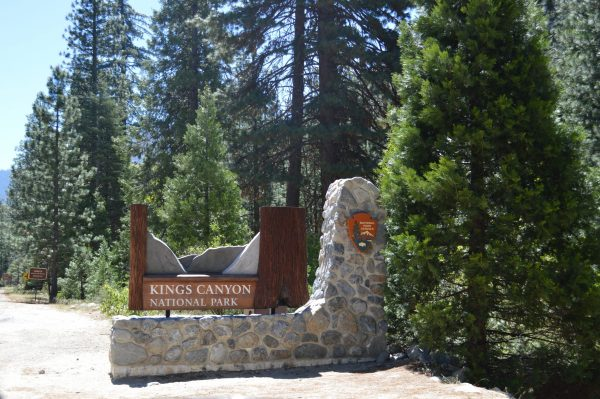 kings canyon ingang visitor center
