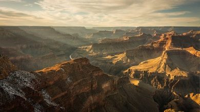 Photo of Het weer in de Grand Canyon. Juli is de warmste maand.