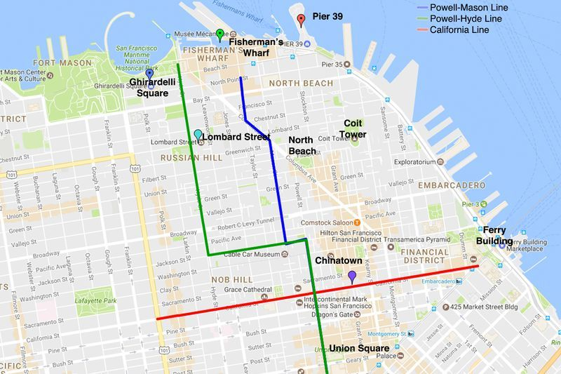 cable-car-san-francisco-kaart-routes-map