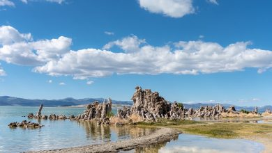 Photo of Mono Lake in Californië. Buitenaards en bijzonder.