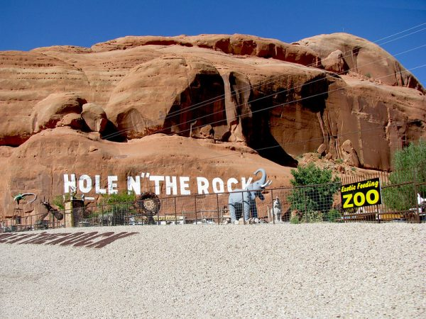 hole n the rock moab
