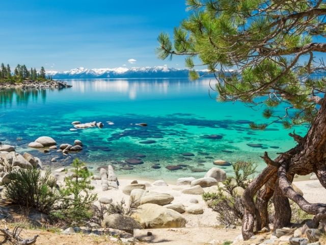 lake-tahoe-strand