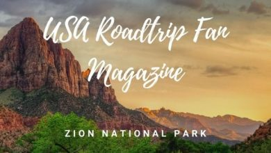 voorkant magazine Zion National Park