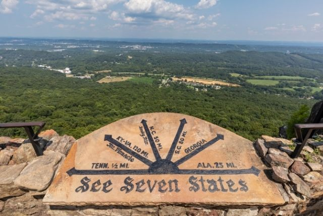 See Seven States Scenic Overlook